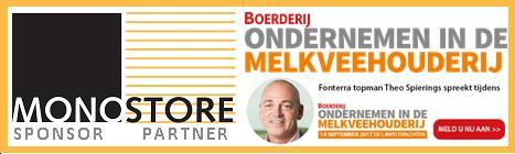Monostore sponsor Boerderij Ondernemen in de Melkveehouderij